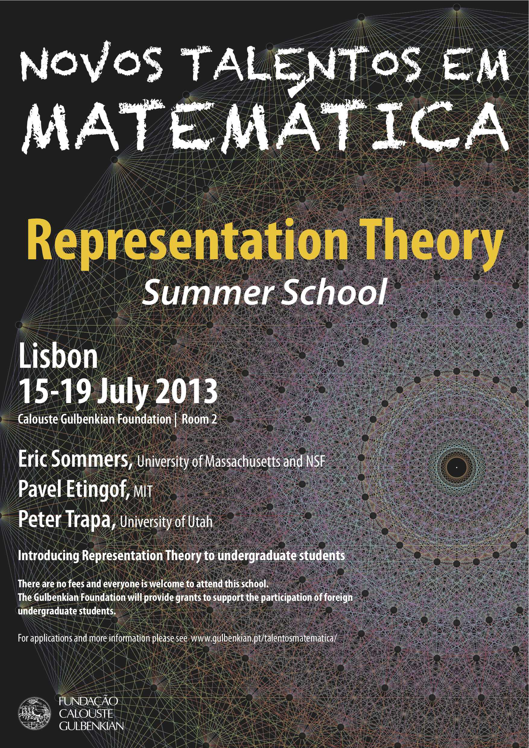 Representation Theory Summer School Lisbon