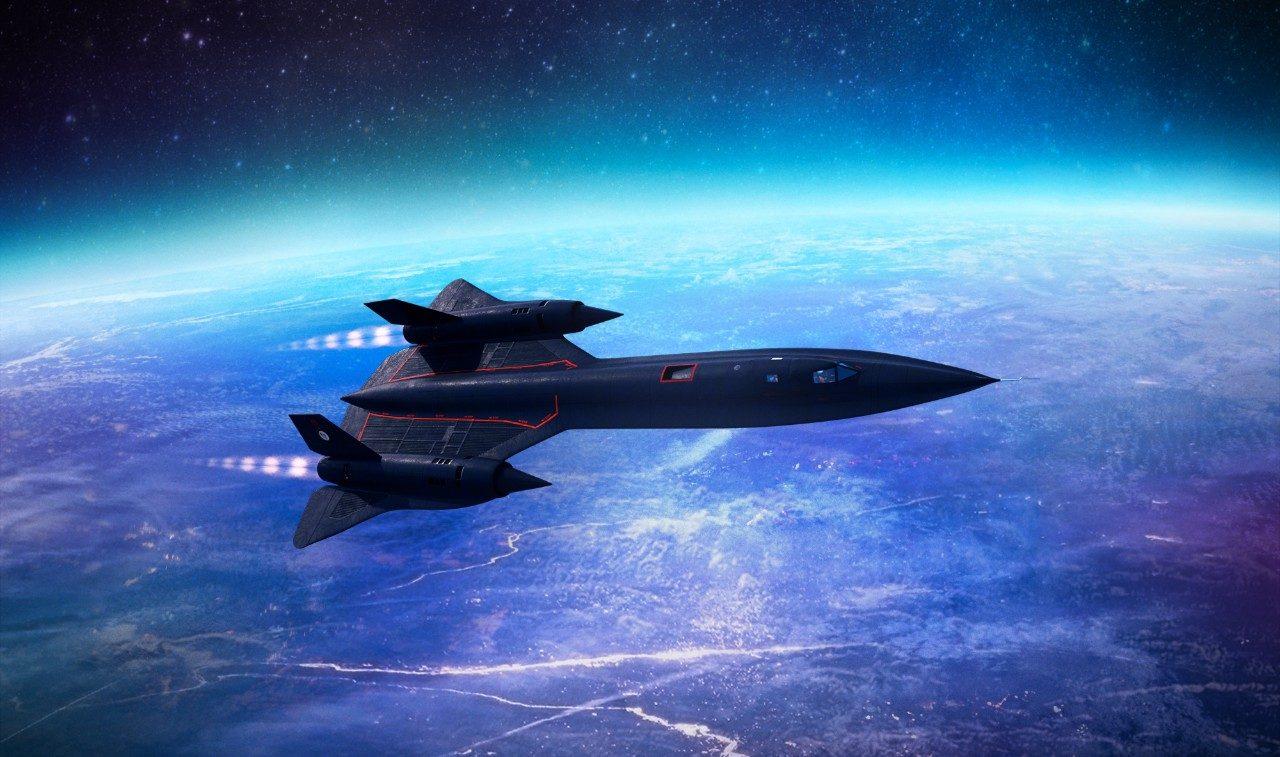 Lockheed SR-71 Blackbird, o avião mais rápido de sempre. Para projetar um avião é fundamental modelar o fluxo de ar ao longo da fuselagem, o que se faz resolvendo certas equações com derivadas parciais.
